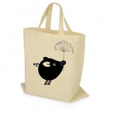 Эко-сумка со свинкой